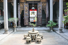 Исторический особняк Pinang Peranakan Стоковая Фотография