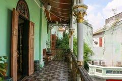 Исторический особняк Pinang Peranakan Стоковые Изображения RF