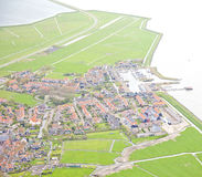 Исторический остров Marken, Нидерландов Стоковое Фото