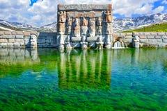 Исторический памятник на побережье озера Стоковое Фото