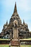 Исторический парк, Phra Nakhon Si Ayutthaya, Таиланд Стоковые Изображения RF