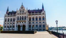 Исторический парламент Будапешта - Венгрии Стоковые Фото