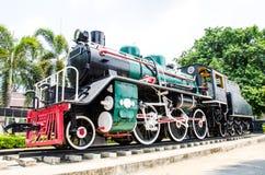 исторический поезд пара Стоковая Фотография