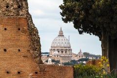Исторический Рим стоковая фотография rf