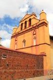 Собор в San Cristobal de Las Casas, Мексике стоковое фото rf