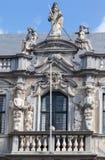 Исторический строя Брюгге Бельгия Стоковое Изображение RF