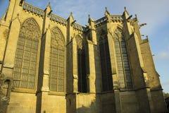 Исторический укрепленный город Carcassone, Франции Стоковое Фото