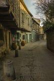 Исторический укрепленный город Carcassone, Франции Стоковое Изображение