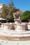 Исторический фонтан Стоковое Изображение