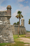 Исторический форт Стоковая Фотография
