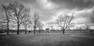 Исторический форт De Шартр южного Иллинойса Стоковые Фото