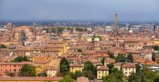 Исторический центр болонья, Италии Стоковое Изображение RF