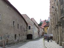 Исторический центр Братиславы стоковое изображение rf