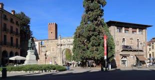Исторический центр Виченца, Италии стоковая фотография rf