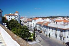 Исторический центр города Ãvora стоковая фотография