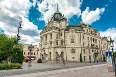 Исторический центр города в Kosice, Словакии Стоковые Фото