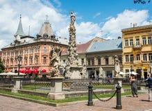 Исторический центр города в Kosice, Словакии Стоковые Изображения