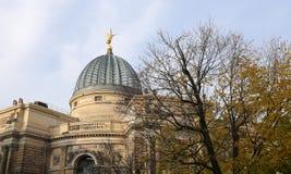 Исторический центр Дрездена (ориентир ориентиров), Германии Стоковое Изображение