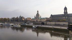 Исторический центр Дрездена (ориентир ориентиров), Германии Стоковое Фото