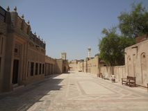 Исторический центр Дубай стоковые изображения rf