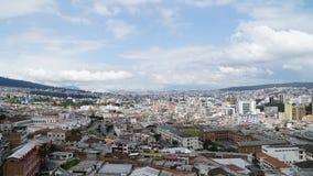 Исторический центр Кито, эквадора стоковое фото rf