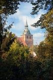 Исторический центр Lueneburg в Германии Стоковые Изображения RF