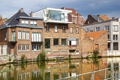 Исторический центр Mechelen, Бельгии Стоковое фото RF