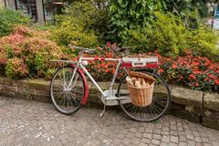 Исторический центр Stresa, Италии Стоковое Изображение