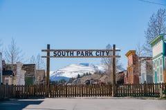 Исторический южный Park City стоковые изображения rf