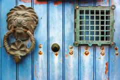 Исторический Knocker двери Стоковая Фотография