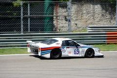Исторический Lancia бета Монте-Карло Turbo Стоковое Изображение RF