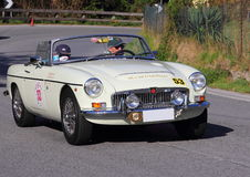 Исторический Mg автомобиля Стоковое Изображение