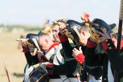 Исторический reenactment крымской войны Стоковое Изображение RF