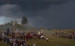 Исторический Reenactment a d 1615 Стоковая Фотография RF