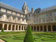 историческое аббатства европейское Стоковая Фотография RF