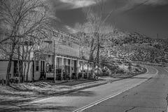 Историческое город-привидение Benton в сьерра-неваде - BENTON, США - 29-ОЕ МАРТА 2019 стоковая фотография rf