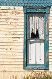 историческое домашнее окно Стоковые Изображения RF