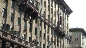 Историческое здание в городе Город показывает их старую культуру Старое историческое здание в центре города, Стоковые Изображения