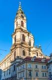 Историческое здание в Праге Стоковые Изображения