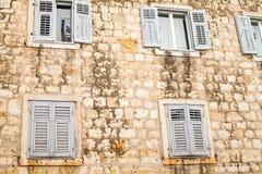 Историческое здание в разделении, Хорватия Стоковые Фотографии RF