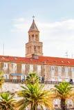 Историческое здание в разделении, Хорватия Стоковое Изображение RF