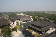 Историческое здание в Янчжоу Стоковое Изображение RF
