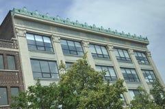Историческое здание городской Кембридж в положении Massachusettes США Стоковые Фотографии RF
