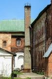 Историческое здание и оно элементы ` s, Zelenograd, Россия Религиозная архитектура России стоковое фото