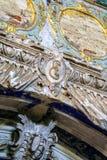 Историческое здание и оно элементы ` s, Zelenograd, Россия Религиозная архитектура России стоковые фотографии rf