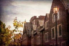 Историческое здание на Mayslake стоковое фото rf