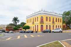 Историческое здание от MS Campo большого вызвало dos Bais Morada Стоковые Изображения