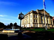 Историческое здание суда в Sapulpa Оклахоме на маршруте 66 стоковые фото
