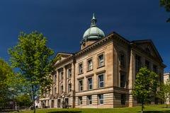 Историческое здание суда - Ironton, Огайо стоковое фото rf