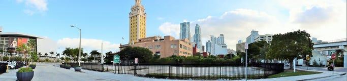 Историческое здание в городском Майами Стоковая Фотография RF